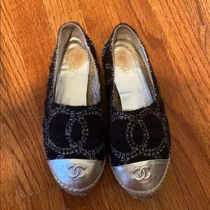 WILLING TO TRADE. SEE BELOW. Chanel espadrilles